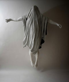 I will fly again, 21st century, modern, blanket, sculpture, resin, fibreglass