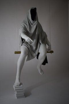 The Judgement, 21st century, modern, blanket, sculpture, resin, fibreglass