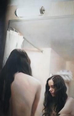 Bagno I, 21st century, modern, nude, women,