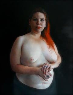 Eli, 21st century, modern, portrait, woman, nude