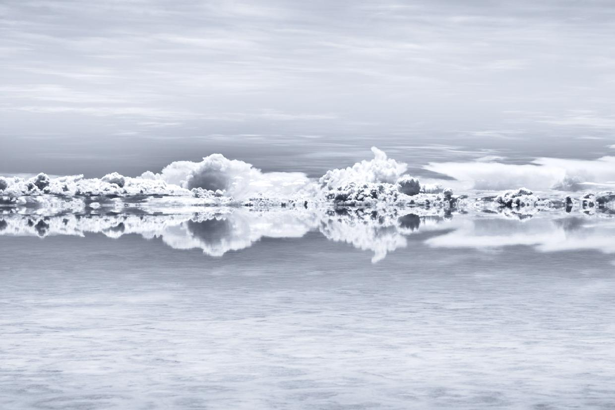 """Cranium in the Sky, Bolivia, from the series """"Into the Light"""", 123 x 175 cm"""