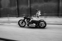 Right attitude, 2015, Contemporary Black and White photography, Harley Davidson