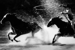 Pursuing in motion, Black and White Photography, Marlboro Man