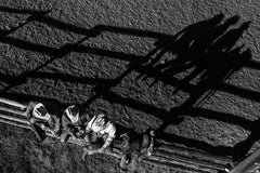 Long shadows of rest, Black and White Photography