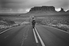 There were roads, never travelled, Black and White Photography, Monument Valley