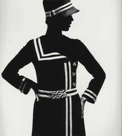 Op Art-Fashion, Modell Lend, Paris 1966
