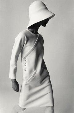 Bernadette, Kleid von Lanvin, Paris 1967