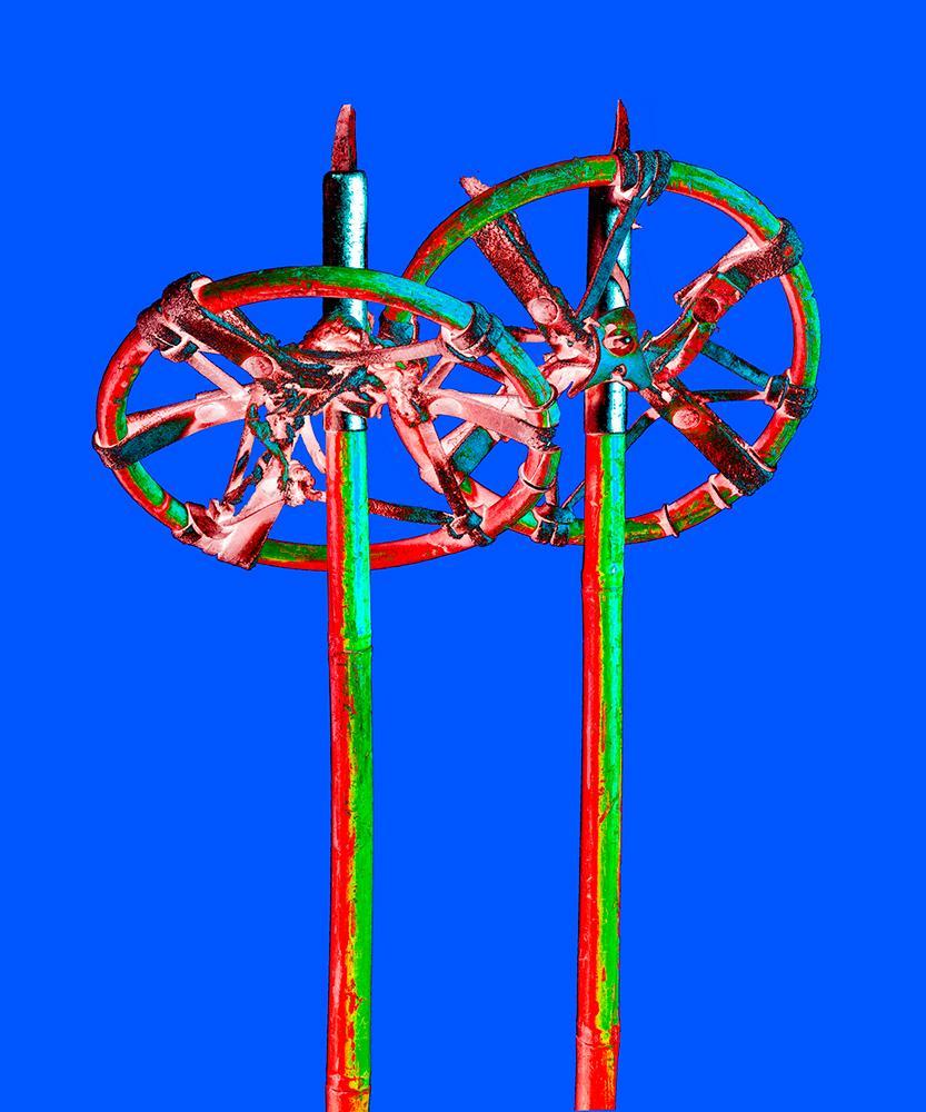 THE SPARKLANG ALPS ICONS Nr. 20, Ski Sticks,