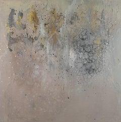 Whispers, Sarah Raskey, Mixed media on canvas