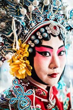 Drunken Beauty by Can Turkyilmaz. Photograph of Mei Lan-Fang from Chinese opera