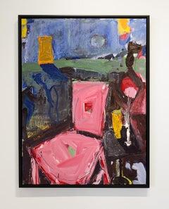 Evening by Jim Watt, oil on canvas