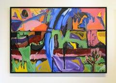 Dreaming by Jim Watt, oil on canvas 2018
