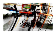 Roadway Conversations, #06 by Tom & Lois White, archival pigment print, 34x57in