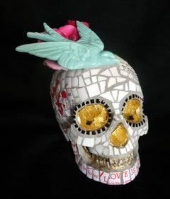 True Love, Recycled ceramic Sculpture by English Artist Susan Elliott