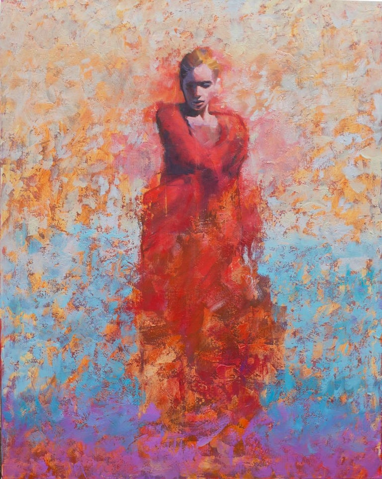 Jamel Akib Portrait Painting - Eveloped