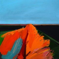 Hundred Foot Bank, By English Landscape Artist Fred Ingrams