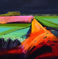 Windy Evening, By English Landscape Artist Fred Ingrams