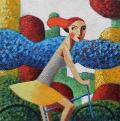 'Morning', Original Oil Painting by Spanish Artist Didier Lourenço
