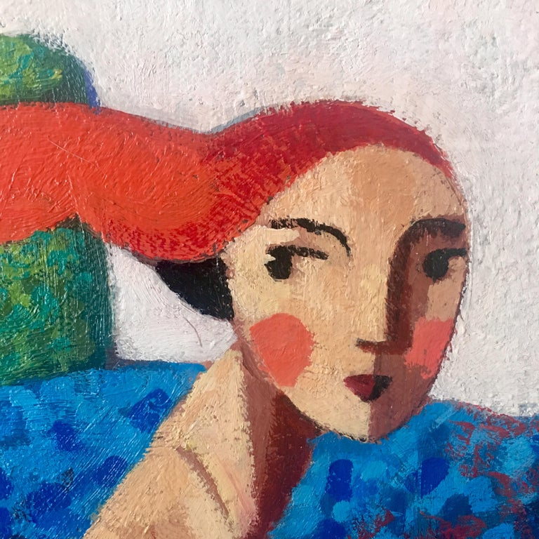 Didier Lourenço is a Spanish painter and Lithographer based in Premià de Mar, Barcelona.  His paintings often depict his representation of 'The Universal Woman', drawing inspiration from Picasso, Matisse and Modigliani. This beautiful face