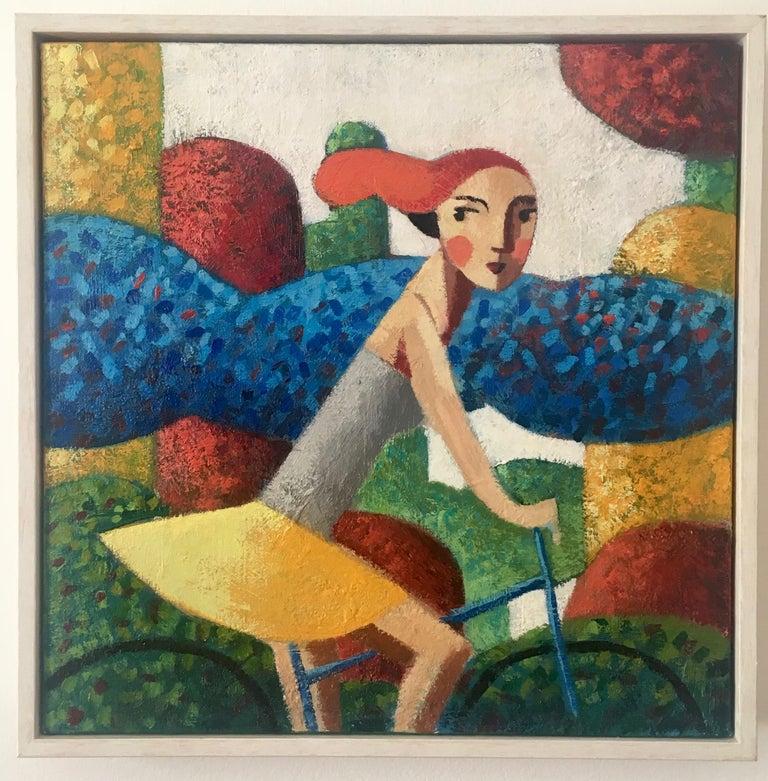 'Morning', Original Oil Painting by Spanish Artist Didier Lourenço For Sale 1