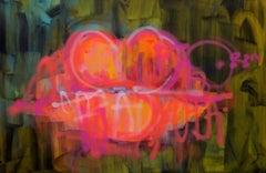 Lips No.1, by South African Graffiti Artist Kilmany-Jo Liversage