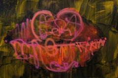 Lips No.2, by South African Graffiti Artist Kilmany-Jo Liversage