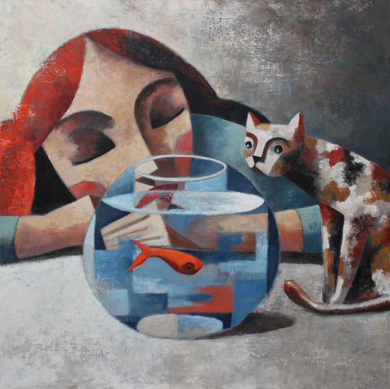 Didier Lourenco was born in 1968 in Premia' de Mar Spain and still resides there today.  He learned the art of lithography from his father and began painting, which has been his life-long career.  His works started out with a wider view of the