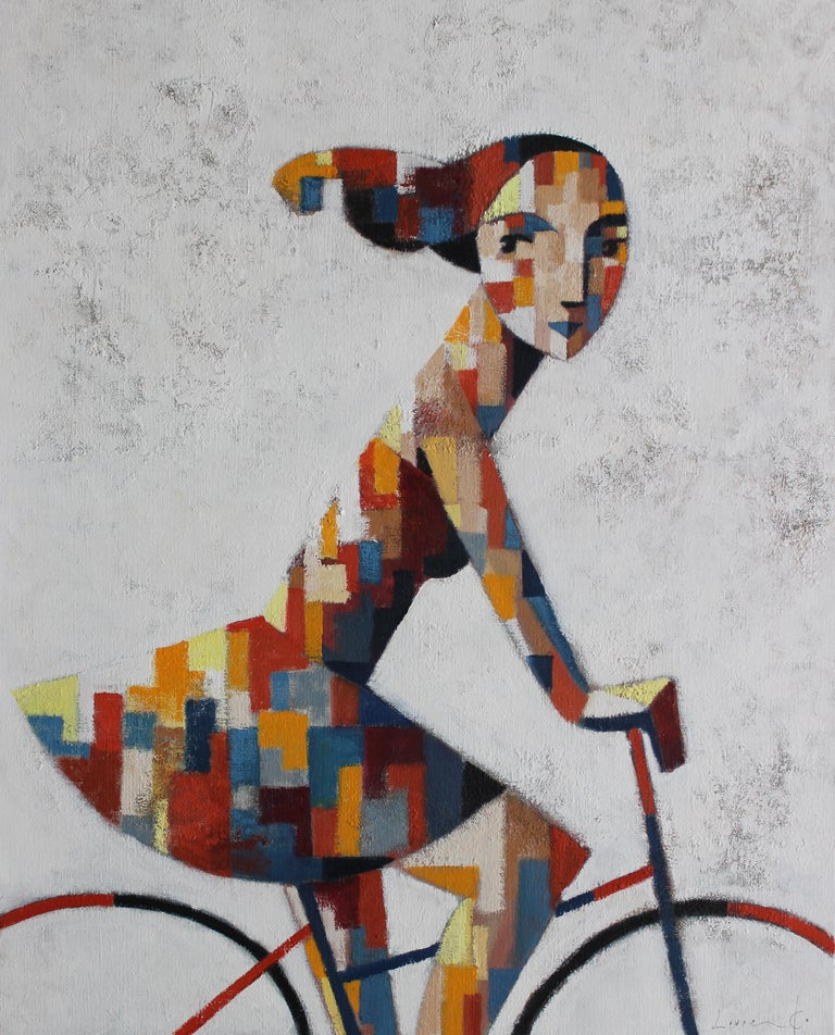 Didier Lourenco was born in 1968 in Premia' de Mar Spain and still resides there today.  He learned the art of lithography from his father and began painting oils on canvas, which has been his life-long career.  His works started out with a wider