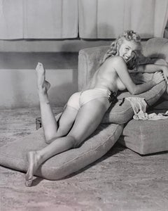 """The Nude Marilyn Monroe""  by Earl Moran for Playboy 1946 Edition 33 of 75"