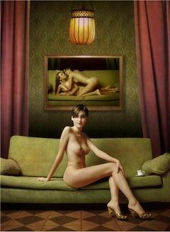 21st century fine art nude portrait photography Acrylic & Dibond Mariano Vargas