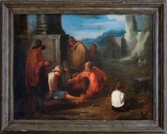 """Morra's Gambler"" — Flemish Painting"
