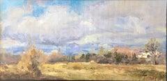 Oleg Ulitskiy 'Vancouver WA Wintertime' Impressionist Plein Air Painting
