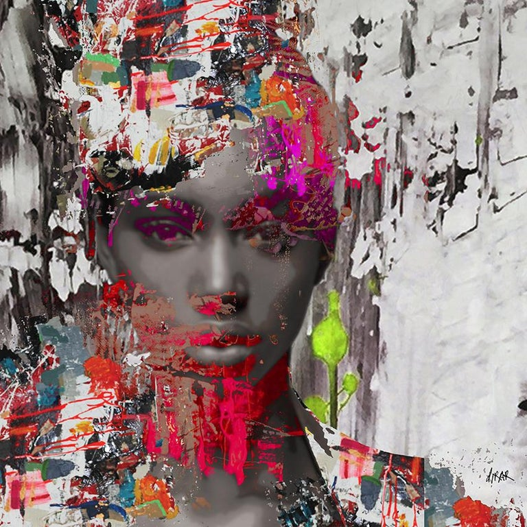 "Hossam Dirar ""All Inside Me"" - Mixed Media Art by Hossam Dirar"