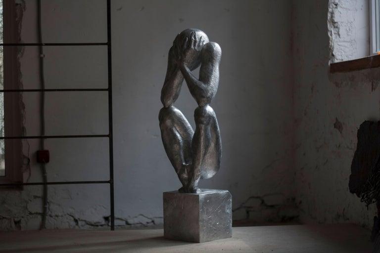 №1 Aluminum Sculpture 34.6