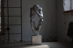 №1 Aluminum sculpture Edition of 5 by Sergii Shaulis