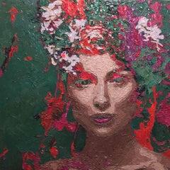 "Hossam Dirar ""A Floral Face"""