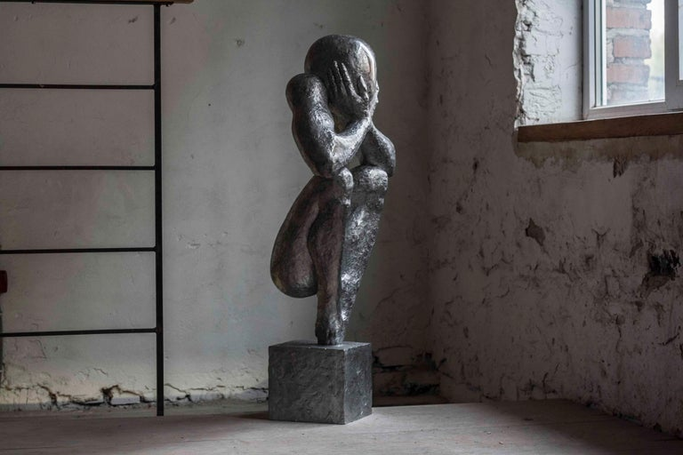 №4 Aluminum sculpture Edition of 5 by Sergii Shaulis  3