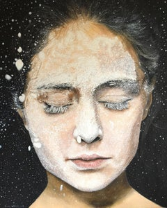 """Flour 2"" Oil Painting 39 x 31 inch by Dmitriy Krestniy"