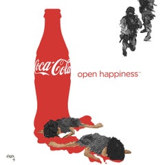"Hossam Dirar ""Open Happiness"" limited edition print release"