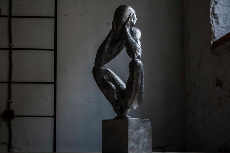 №2 Aluminum sculpture Edition of 5 by Sergii Shaulis  For Sale 3