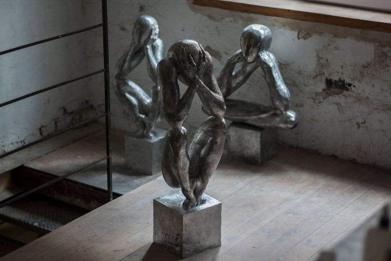№2 Aluminum sculpture Edition of 5 by Sergii Shaulis  For Sale 4
