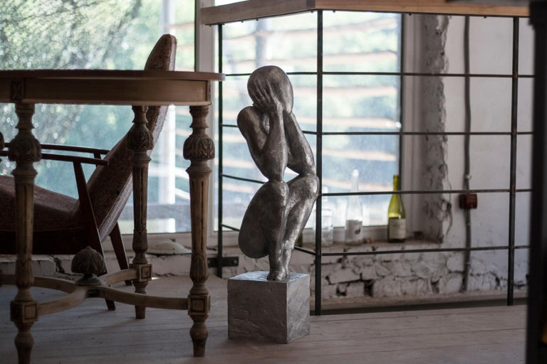 №2 Aluminum sculpture Edition of 5 by Sergii Shaulis  For Sale 8