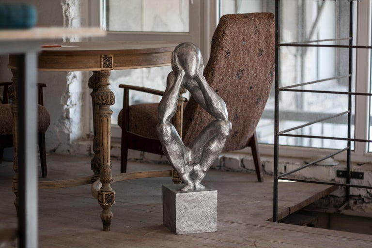 №2 Aluminum sculpture Edition of 5 by Sergii Shaulis  For Sale 10