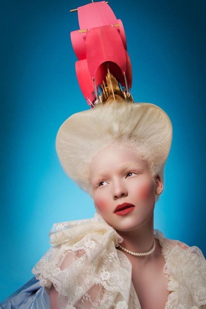 "Viktorija Pashuta ""Fashion Marie Antoinette"" Original Fine Art Print"
