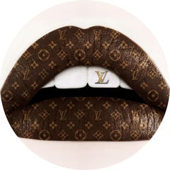 """LIPS - 3D Louis Vuitton L2"" Lenticular photo Edition of 8 by Giuliano Bekor"