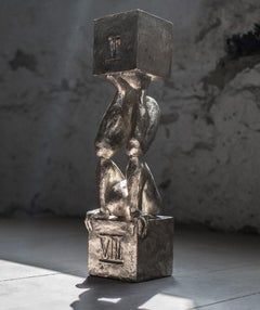 Atlas №2 Bronze sculpture Edition of 5 by Sergii Shaulis