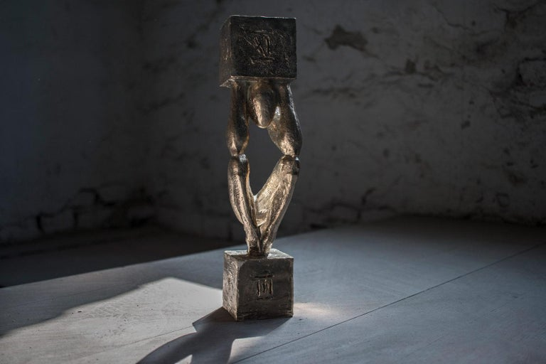 Atlas №3 Bronze sculpture Edition of 5 by Sergii Shaulis  For Sale 2