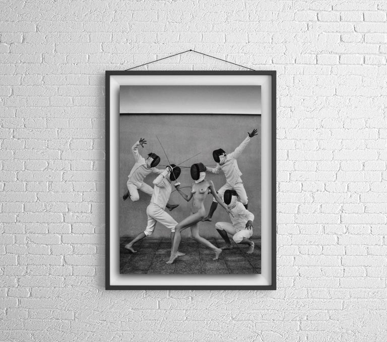Fencers 1 Original photography Edition 3/5 by Lukas Dvorak  For Sale 1