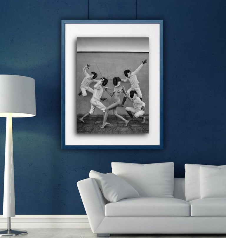 Fencers 1 Original photography Edition 3/5 by Lukas Dvorak  For Sale 5