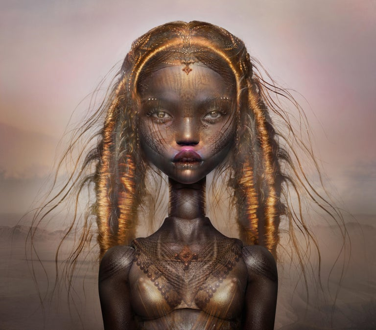 """POP"" Ingrid Baars X Popovy Sisters 35x40 in Original photography Edition of 12  - Photograph by Popovy Sisters"